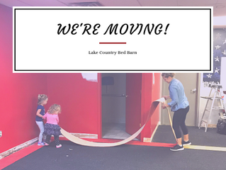We're Moving | Display Sale | Lake Country