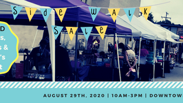 WANTED Vendors, Crafter's, & Farmer's Market | 8th Annual Sidewalk Sale