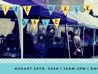 WANTED Vendors, Crafter's, & Farmer's Market | 7th Annual Sidewalk Sale