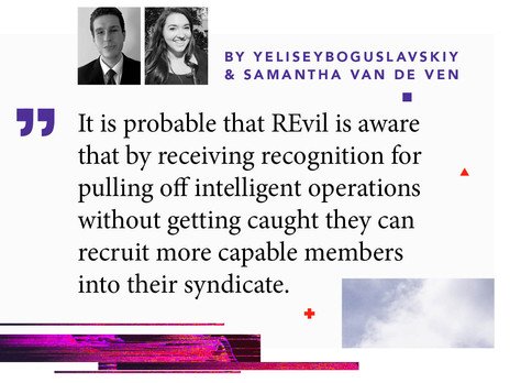 "Inside REvil Extortionist ""Machine"": Predictive Insights"