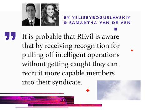 "Inside REvil Extortionist ""Machine"": Predictive Insights"