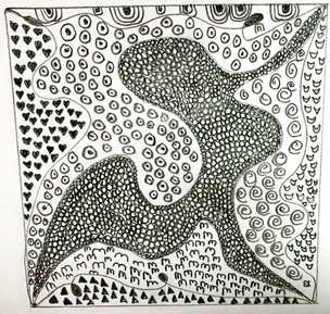 Day 2 - Zentangle