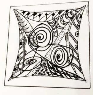 Day 2 - Zentangle