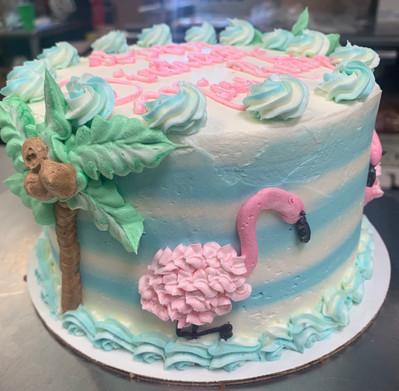 Flamingo Cake.