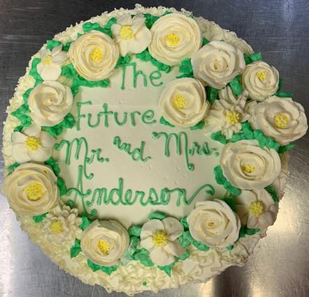 Buttercream Cake.