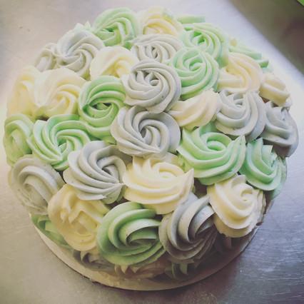 Rosette Cake.