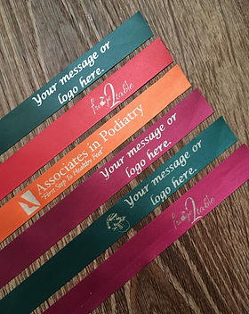 Personalized ribbons
