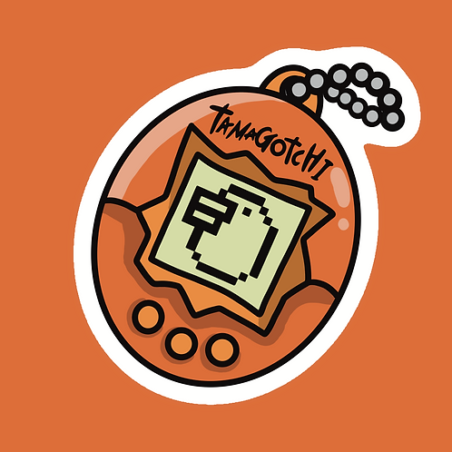 Tamagotchi - Sticker