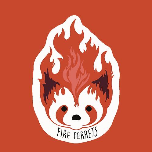 Fire Ferrets - Sticker