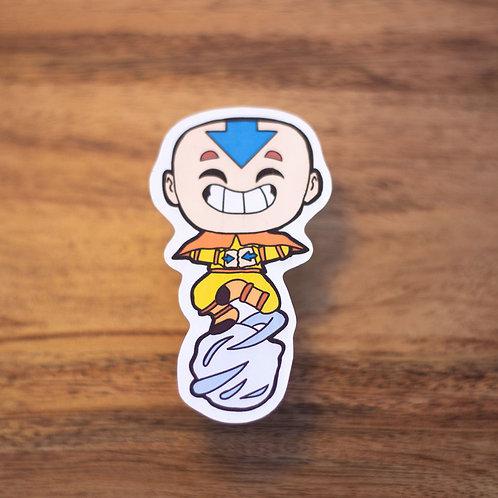 Happy Aang -Sticker
