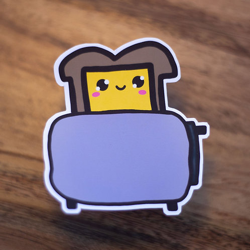 Cheese Toastie - Sticker