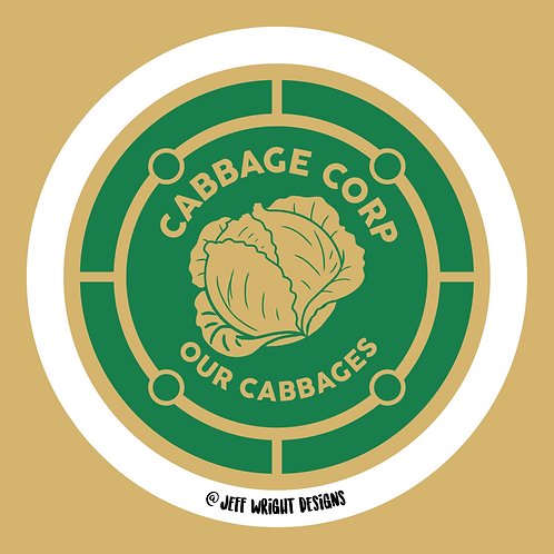 Cabbage Corp -Sticker