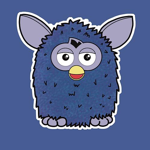 Furby -Sticker