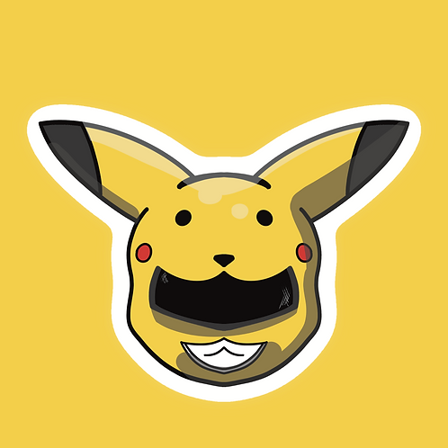 Pikaranger - Sticker
