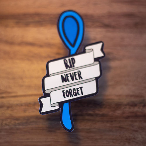 Blue Spoon - Sticker