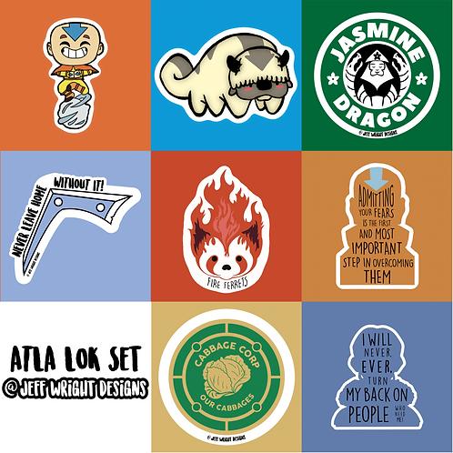 ATLA/LOK Set - Stickers