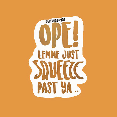 Ope! - Sticker