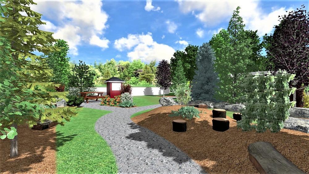 calgary landscape design