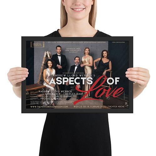 ASPECTS OF LOVE (Framed poster)