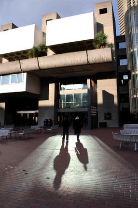 Barbican Shadows, London