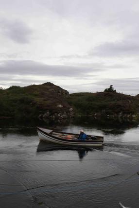 Boat, Bun Beag, Co.Donegal, Ireland