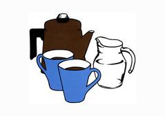 Still Life - Coffee for Mr Caulfield