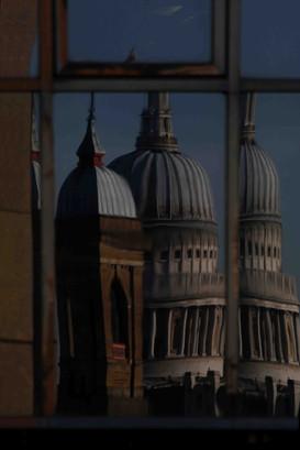 Canon Street Station & St Pauls Reflected, London
