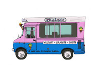 Ice Cream Van No. 8, Gelati, Italy
