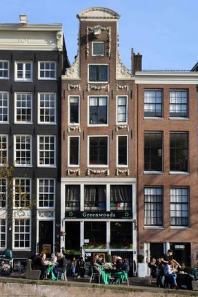 Cafe, Keizersgracht, Centrum, Amsterdam, Netherlands