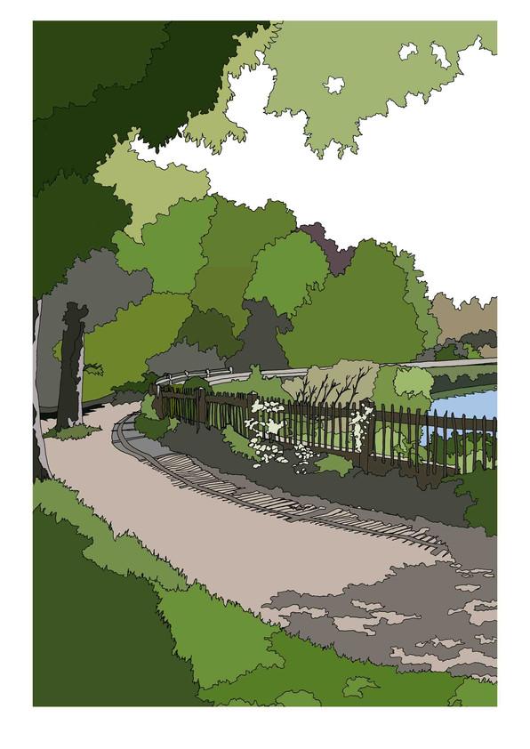 Hampstead Heath, Mens Bathing