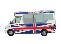 Ice Cream Van No.14, Union Jack, UK