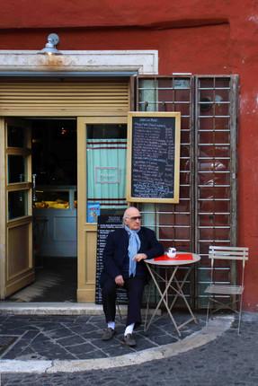 Cafe Culture, Via Della Vetrina, Rome, Italy