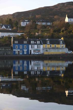 Blue & Yellow, Tarbert, Argyll, Scotland