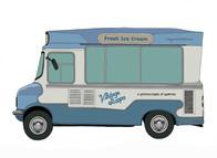 Ice Cream Van No. 3, Vintage Scoops, UK