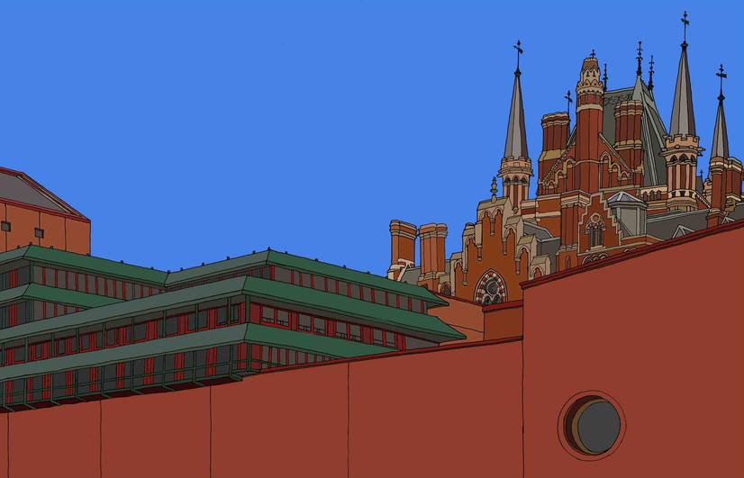 Roofline, British Library