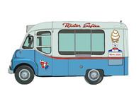 Ice Cream Van No.13, Old Mr Softee, UK