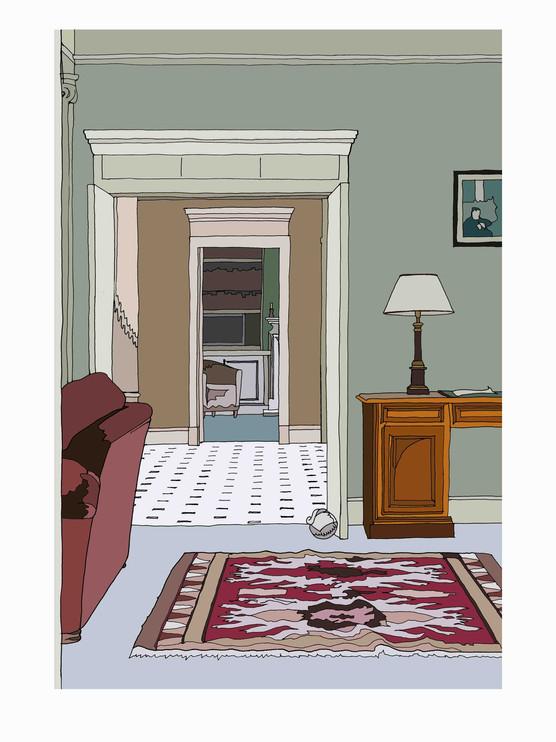 Interior, Manor House, Kent