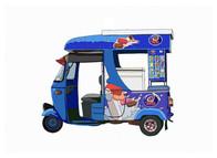 Ice Cream Van No. 12, TukTuk Magic, Sri Lanka
