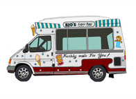 Ice Cream Van No. 4, Rio's, UK