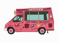 Ice Cream Van No. 2, Tonibell, UK