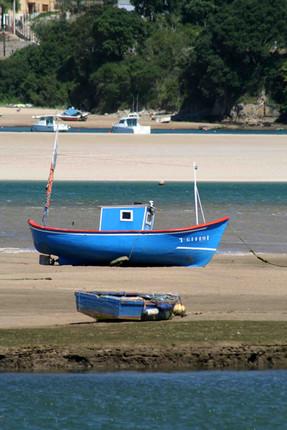 Boat, San Vicente de la Barquera, Cantabria, Northern Spain