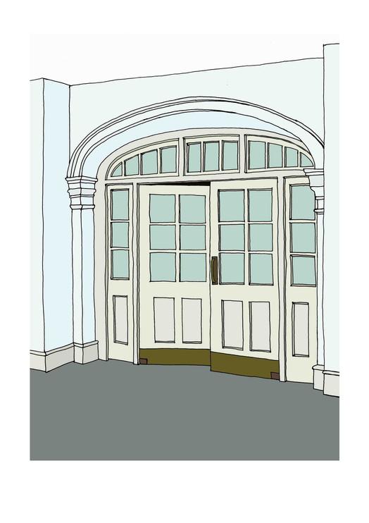 Interior, The Camden Arts Centre Doorway, NW3