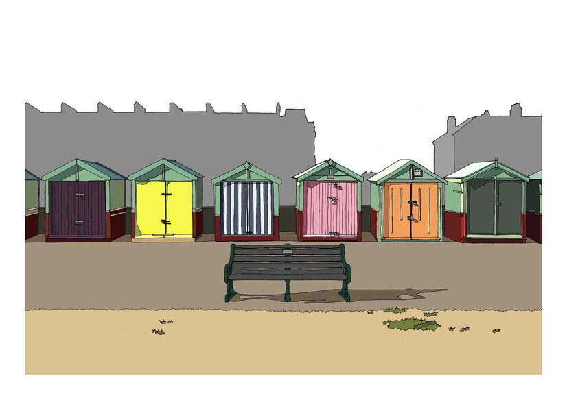 Bathing Huts, Brighton
