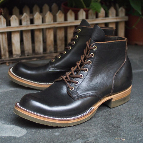 < Bench-Re-Built: Viberg Boots >