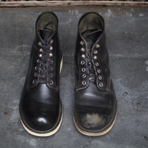 < Bench-Re-Built: Red Wing 8165 >