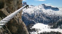 dolomites climbing holiday