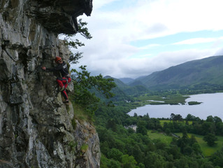 Lower Falcon Crag. A Lakeland Gem