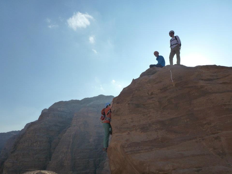 Wadi Rum Rock Skills