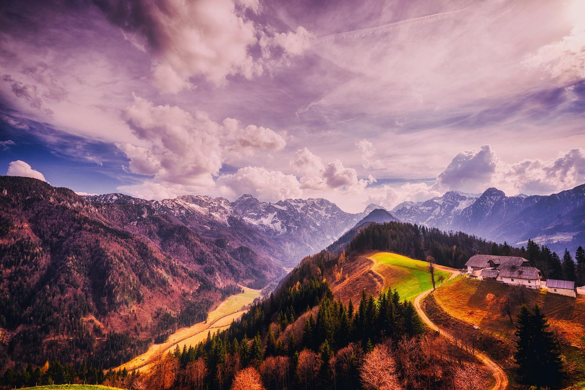 Slovenia, Julian Alps Climbing. Bove