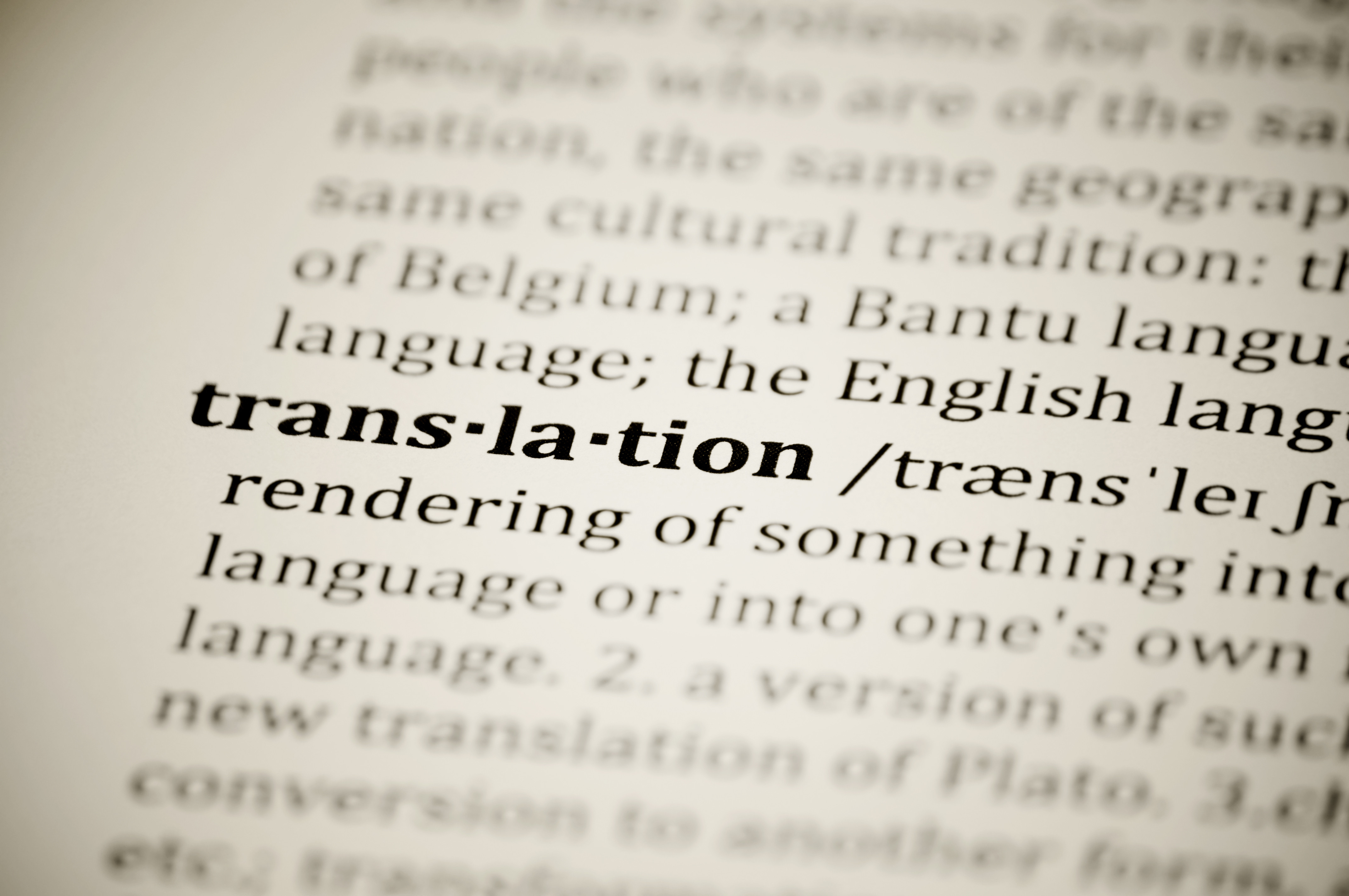 Article - Traduction - Translation